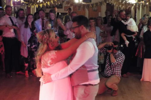 Wedding Disco at Enderby Bowls Club, Leicestershire